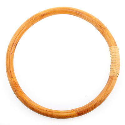 Chinese Kung Fu Wing Chun Training Hoop Wood Rattan Ring Sticky Hand Strength US
