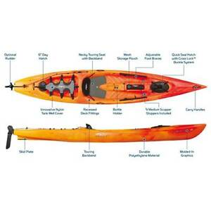 Necky Vector 13 Sit on Top Kayak Mona Vale Pittwater Area Preview