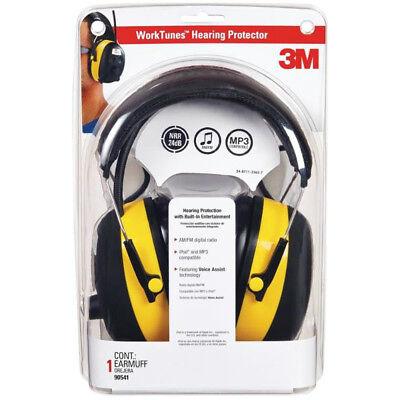 3m 90541 Digital Worktunes Hearing Protector Amfm Stereo Radio 22 Db