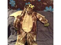 Toddler dragon costume age 3-4