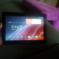 10.1 Android Asus transformer tablet with dock keyboard