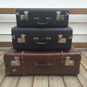 Antique Vintage Luggage Suitcases