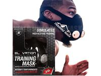 ELEVATION TRAINING MASK 2.0 CARDIO WORKOUT BOXING UFC MMA RUGBY CYCLING