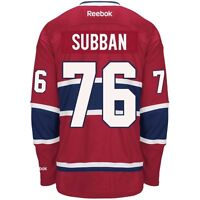P.K subban Montreal Canadians jersey