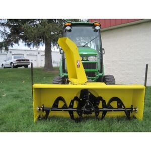 """72"""" Snow blower attachment-Front Mount for tractor"""