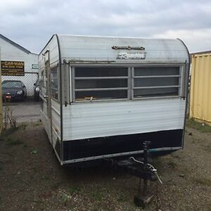 Free camper for project