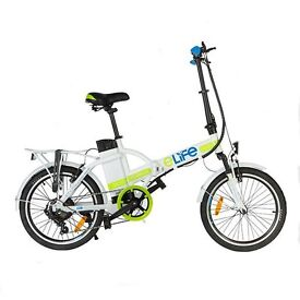 ACORN CYCLES ; E-LIFE ELECTRIC FOLD-UP BIKES NOW IN STOCK
