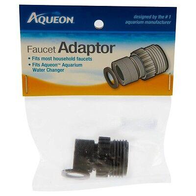 Aqueon Threaded Faucet Adapter Aquarium Water Changer/Gravel Vac Part Plastic