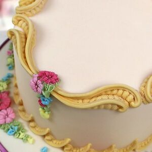 NEW KATY SUE S SCROLLS MOULD CAKE DECORATING