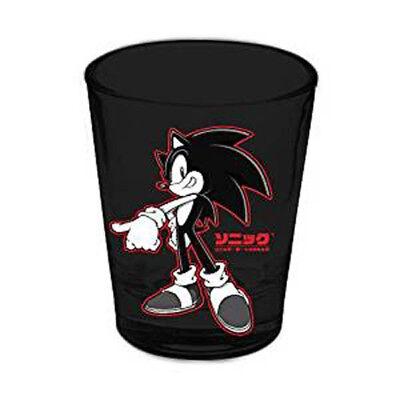Sonic the Hedgehog Red Outline Shot Glass [Surreal Ent.] (Hedgehog Outline)
