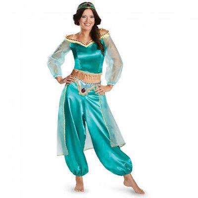 Women's Disney Aladdin Jasmine Sassy Prestige Costume   Disguise 50506](Jasmine Prestige Costume)