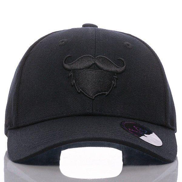 blackbeards Baseball Cap All Black | blackbeards Bartpflege & Rasur