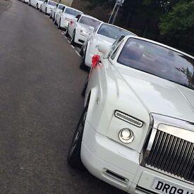 Wedding Car Hire - Chauffeur Driven Service unbeatable price!! Prom