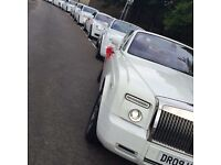Wedding Car Hire - Chauffeur Driven Service unbeatable price!! Prom