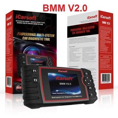 iCarsoft BMM V2.0 für BMW Mini OBD Diagnose Öl Service DPF EPB BMS Rückstellung  (Elektronische Sensoren)
