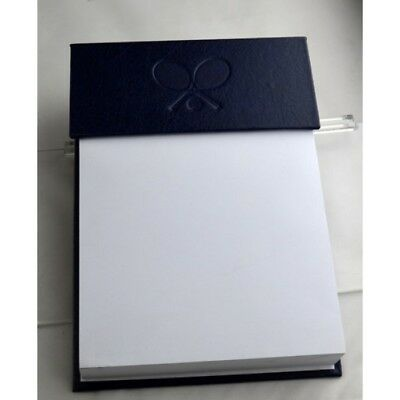 Tennis Theme Leather Note Pad Holder