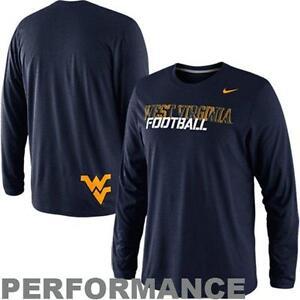Nike West Virginia Mountaineers Football Long Sleeve Dri