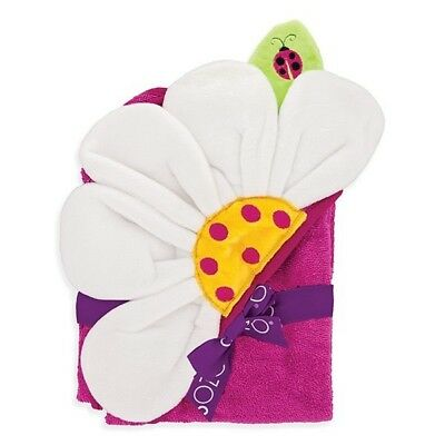 Flower-Hooded Towel, Cute and Comfy, Best Gift for Babies, Baby shower & Newborn](Flower Hooded Towel)