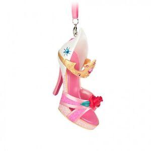 Glitter High Heel Shoe Ornaments