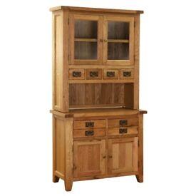 Vancouver Oak Petite Dresser Base with Glazed Top NB001