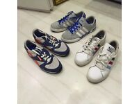 Selection of men's trainers size 8-9