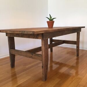 Rustic Harvest Farm Table
