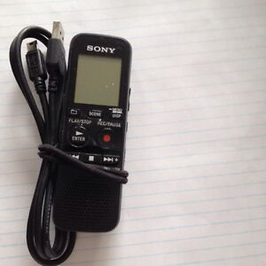 Sony voice recorder Model :ICDPX333/CA