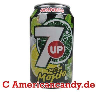 MOJITO SEVEN UP Softdrink: 24x 330ml 7up MOJITO (3,91€/l)