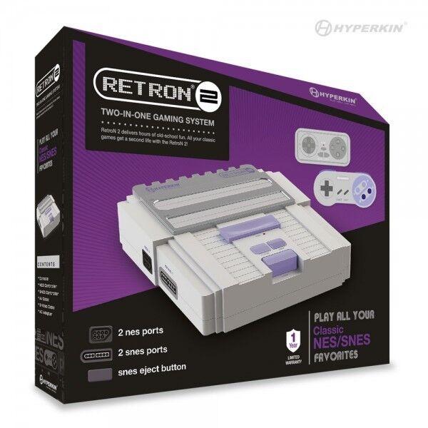 Retron 2 2 In1 Super Nintendo Snes & Nes Retro Video Game...