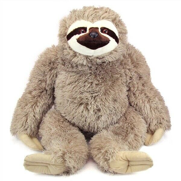Wild Republic Jumbo Sloth Plush, Giant Stuffed Animal, Plush