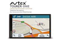 Avtex Tourer One Caravan and Motorhome Club Edition Sat Nav by Garmin NEW MODEL