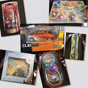 6 New Toys in the package $3-$23.  Price Reduced