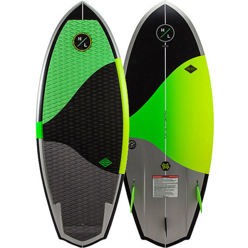 HYPERLITE SHIM WAKE SURF -- COLOR BLK/GRN -- SIZE: 4