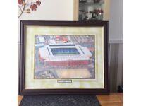 Framed print of Ibrox Stadium