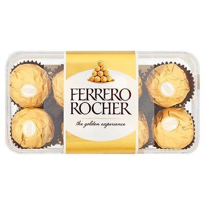 Ferrero Rocher 16 Piece - FERRERO ROCHER 16 PIECES 200g CHOCOLATES BOX WEDDING FAVOURS SWEET CART 590646