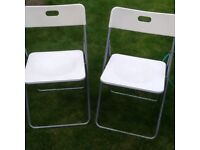 LIGHT FOLDABLE CHAIRS IDEAL FOR CAMPING ONLY £7 ono