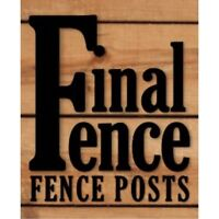 Final Fence - Fence Posts