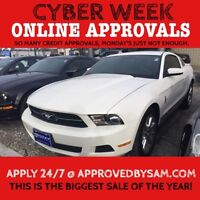 Announcing The Fastest New Credit Approval Process - MUSTANG