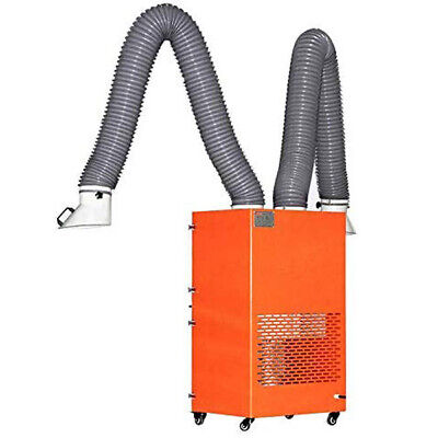 Solder Smoke Absorber Welding Fume Extractor Industry Remover Filter Double Arm