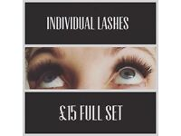 Spraytans, individual lashes, shrinking violet, pedicures, waxing, teeth whitening & more