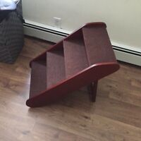 Pet Steps for next to the bed, paid $120 asking for $40.00