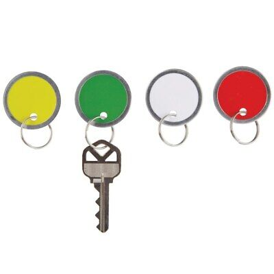 Office Depot Brand Round Key Tags 1.25 Diameter Assorted Colors Pack Of 50