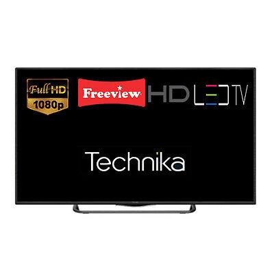 "Technika 40F22B-FHD 40"" Slim LED TV Full HD 1080p Freeview HD DTS TruSurround"
