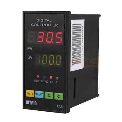 Digital Pid Temperature Controller Ta6-snr K Type Thermocouple Sensor Ssr-25da