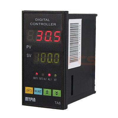 Digital PID Temperature Controller TA6-SNR + K type thermocouple Sensor SSR-25DA