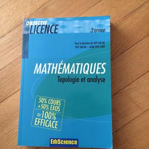 Mathématiques -topologie et analyse Gatineau Ottawa / Gatineau Area image 1