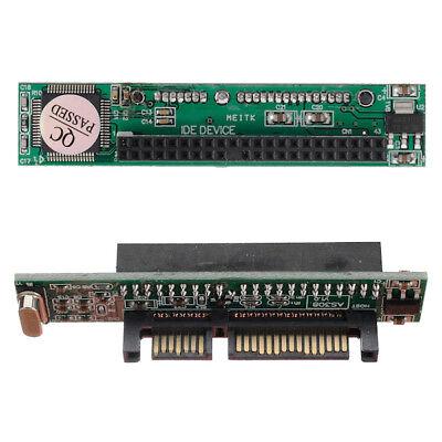 IDE PATA To SATA Hard Drive Converter Adaptador Conector Card 44 Pin...