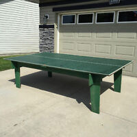 Vintage Beer/Ping Pong Table