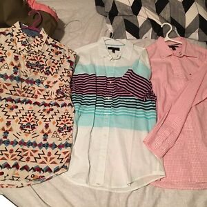 3 Shirts for sale 15 each take all for 40