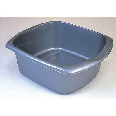 Addis Metallic Grey 9.5 Litre Rectangular Washing Up Bowl 9603MET [AG05880]